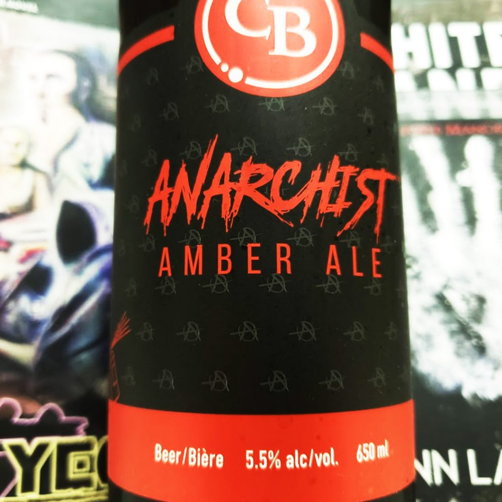 Game Time - Unprocessed Thoughts August 2019. Beer Note: Anarchist Amber Ale by Cannery Brewing Company