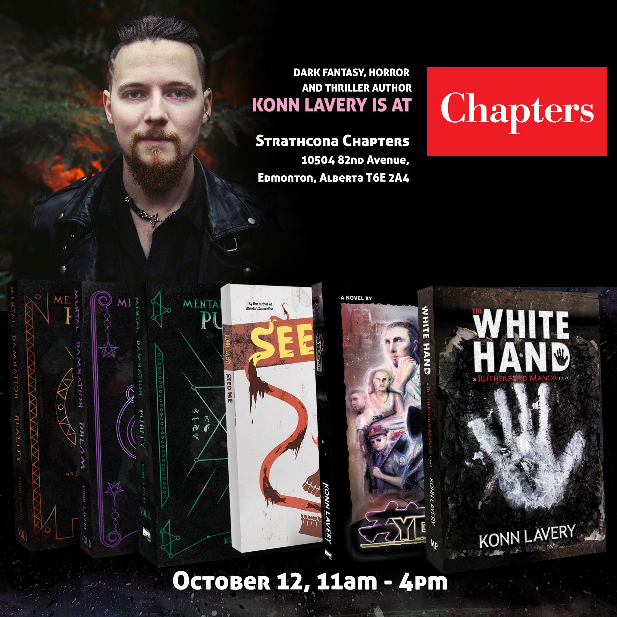 Halloween Book Signing