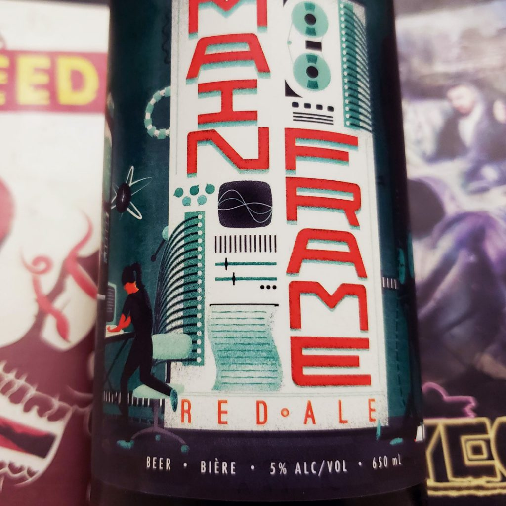 Unprocessed Thoughts Revisions September 2019 - Beer Note: Mainframe Category 12 Brewing