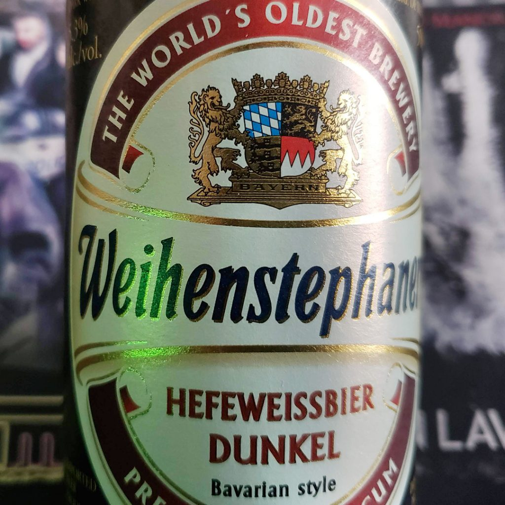 Three Manuscripts, and Then Some. October 2019 Unprocessed Thoughts. Beer Note: Weihenstephaner Hefeweissbier Dunkel