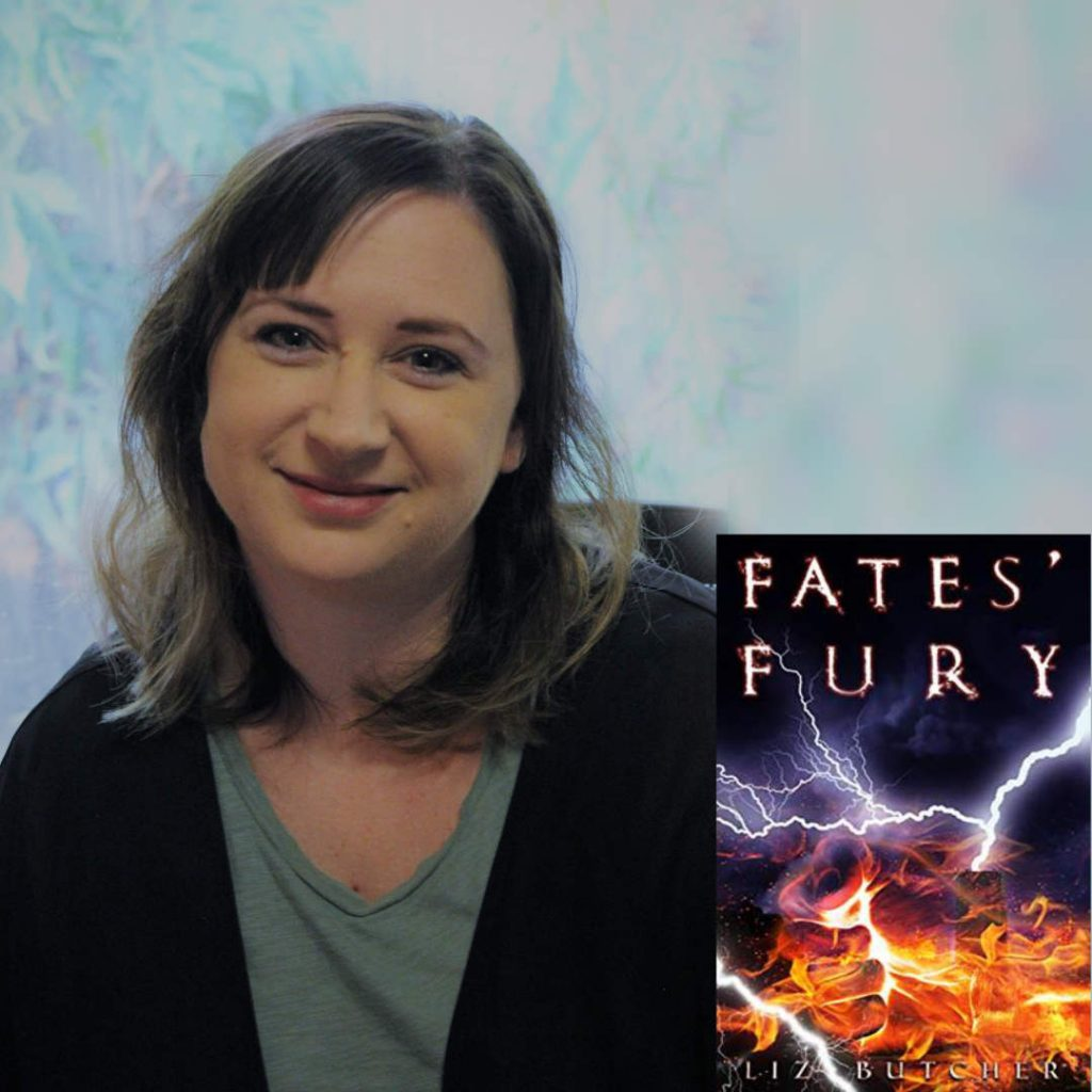 Liz Butcher, Australian Horror Author of Fate's Fury