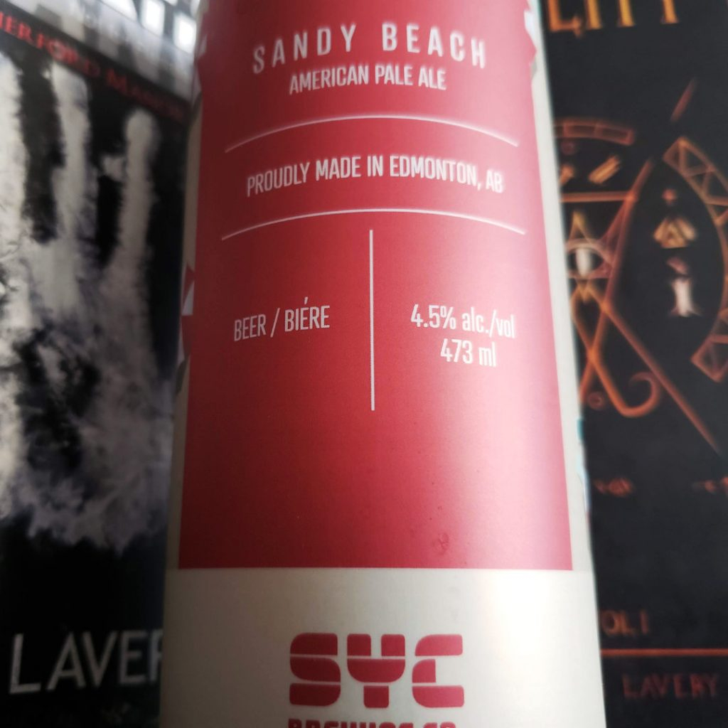 What Publishing Route - Unprocessed Thoughts January 2020 - Beer Note: Sandy Beach American Pale Ale