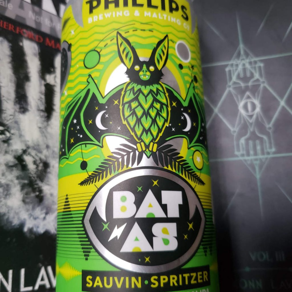 Polishing Manuscripts - Unprocessed Thoughts February 2020 - Beer Note: Phillips Bat As