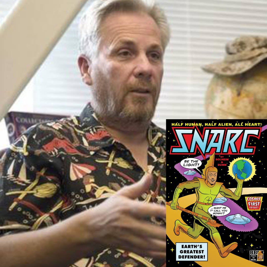 Dr. Bruce Olav Solheim's New Scifi Comic Series