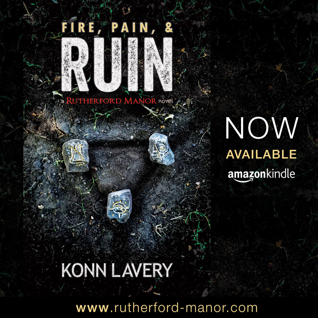 Fire, Pain, & Ruin: A Rutherford Manor Novel Kindle