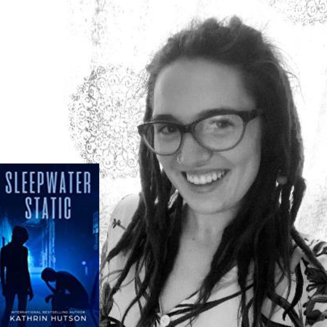 Author Kathrin Hutson Returns with Sleepwater Static, the Novel in the Blue Helix Sci-Fi series