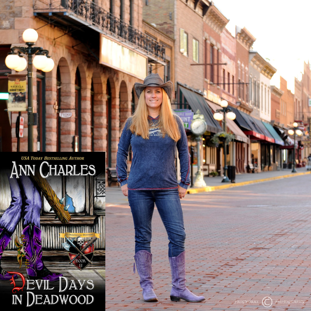 Ann Charles, Mystery Author of Devil Days in Deadwood