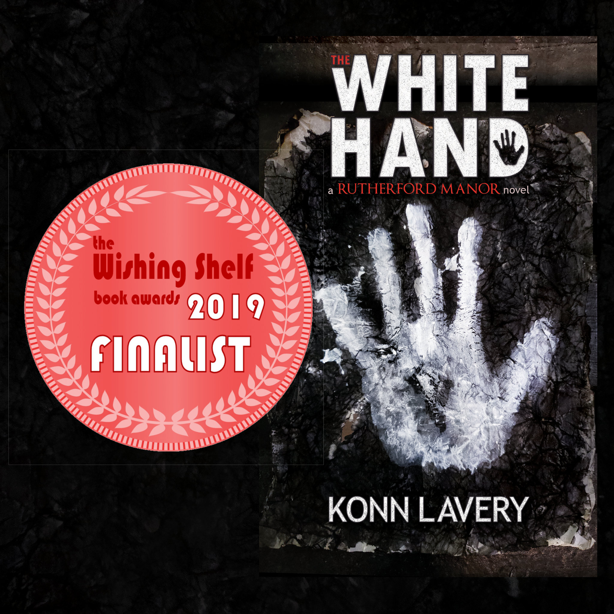 THE WISHING SHELF BOOK AWARDS 2019 FINALISTS/WINNERS - The White Hand by Konn Lavery