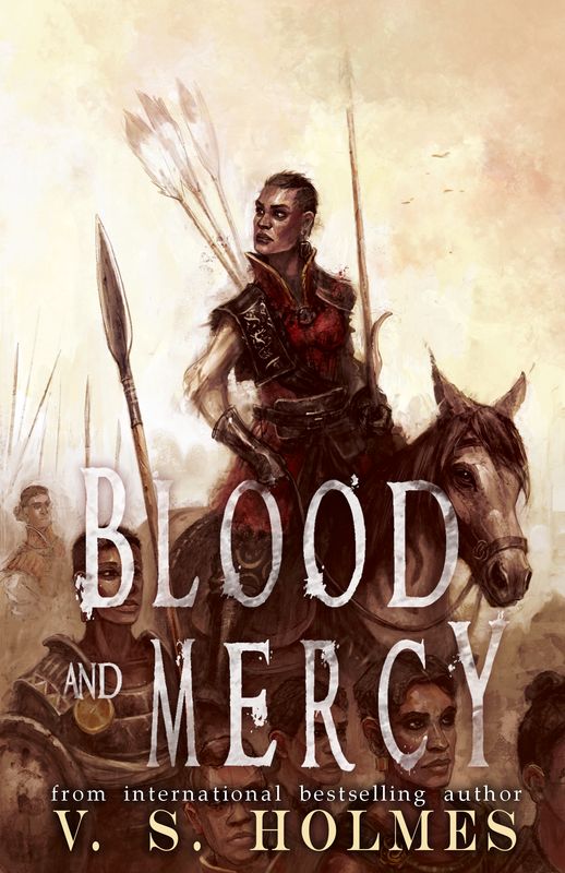 Blood and Mercy Reforged Series by V. S. Holmes