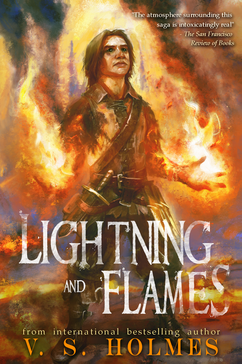 Lightning and Flames Reforged Series by V. S. Holmes