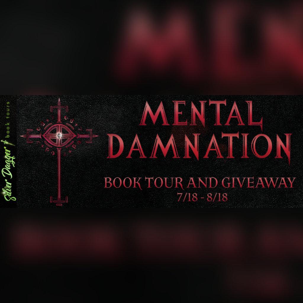 Mortal Mental Damnation Silver Dagger Book Tour