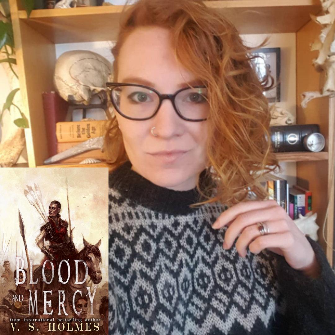 V. S. Holmes Award-Winning Fantasy & Sci-Fi Author's new novel Blood and Mercy