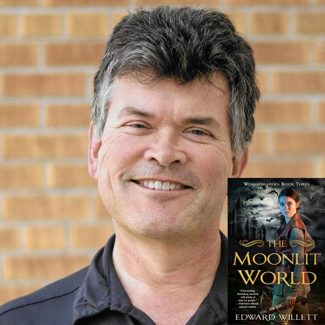 Edward Willett release the next Worldshaper novel The Moonlit World