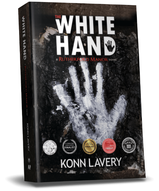 The White Hand A Rutherford Manor Novel by Konn Lavery