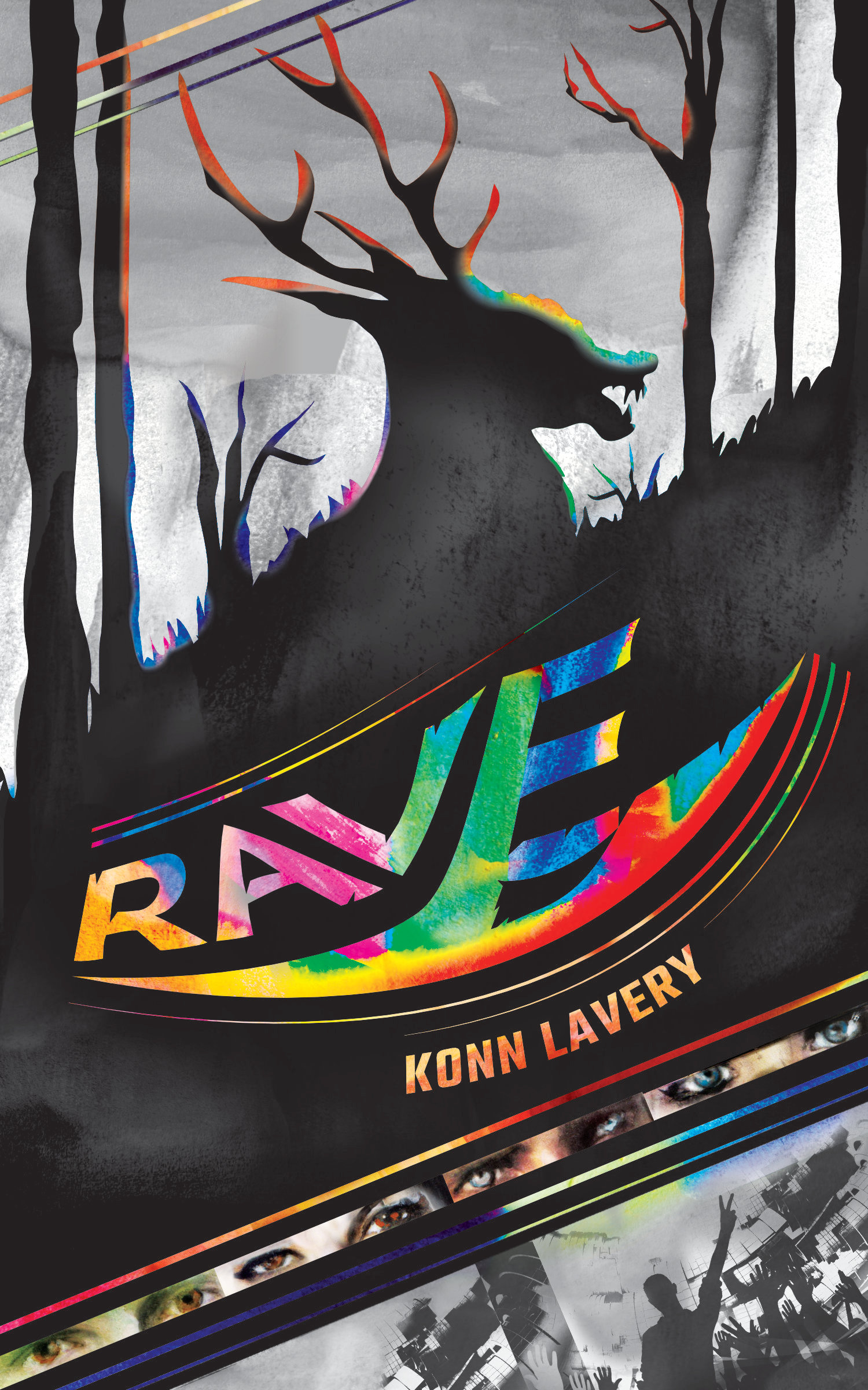 Rave by Konn Lavery Canadian Horror Novel Alberta