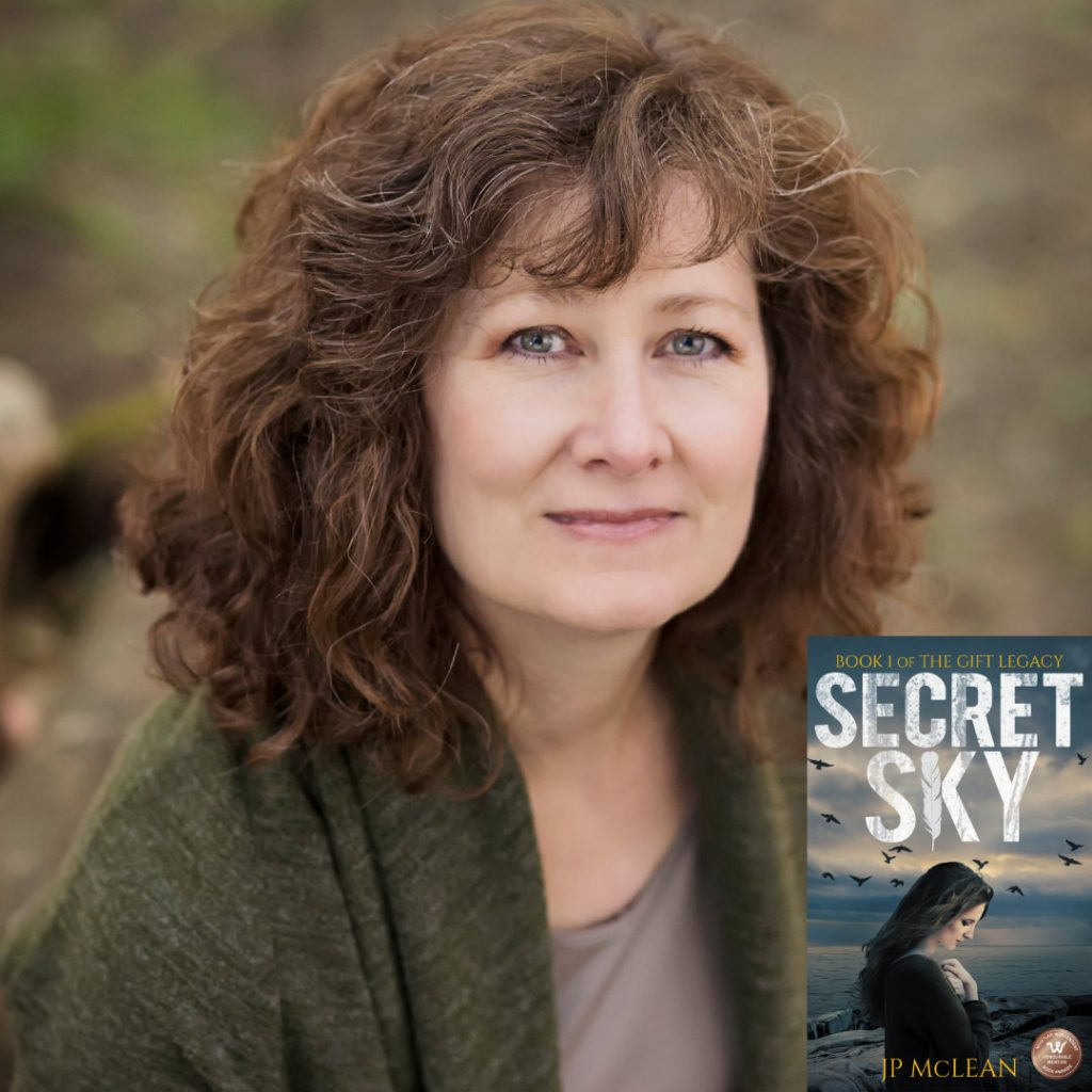 Supernatural Thriller Author JP McLean discusses her writing career and The Gift Legacy series.
