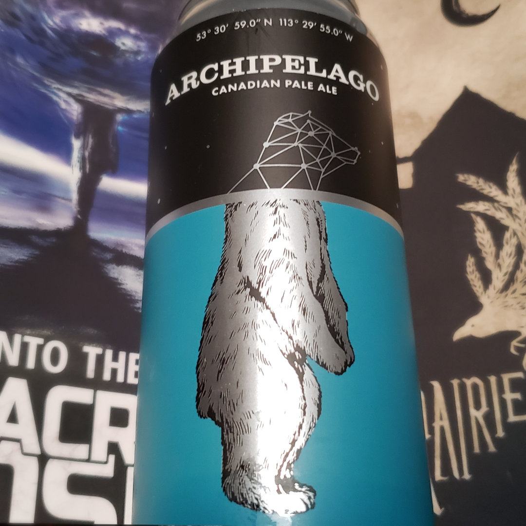 Ascend from the Rabbit Hole. Unprocessed Thoughts March 2021. Beer Note: Archipelago Canadian Pale Ale. Polar Park Brewing Co.