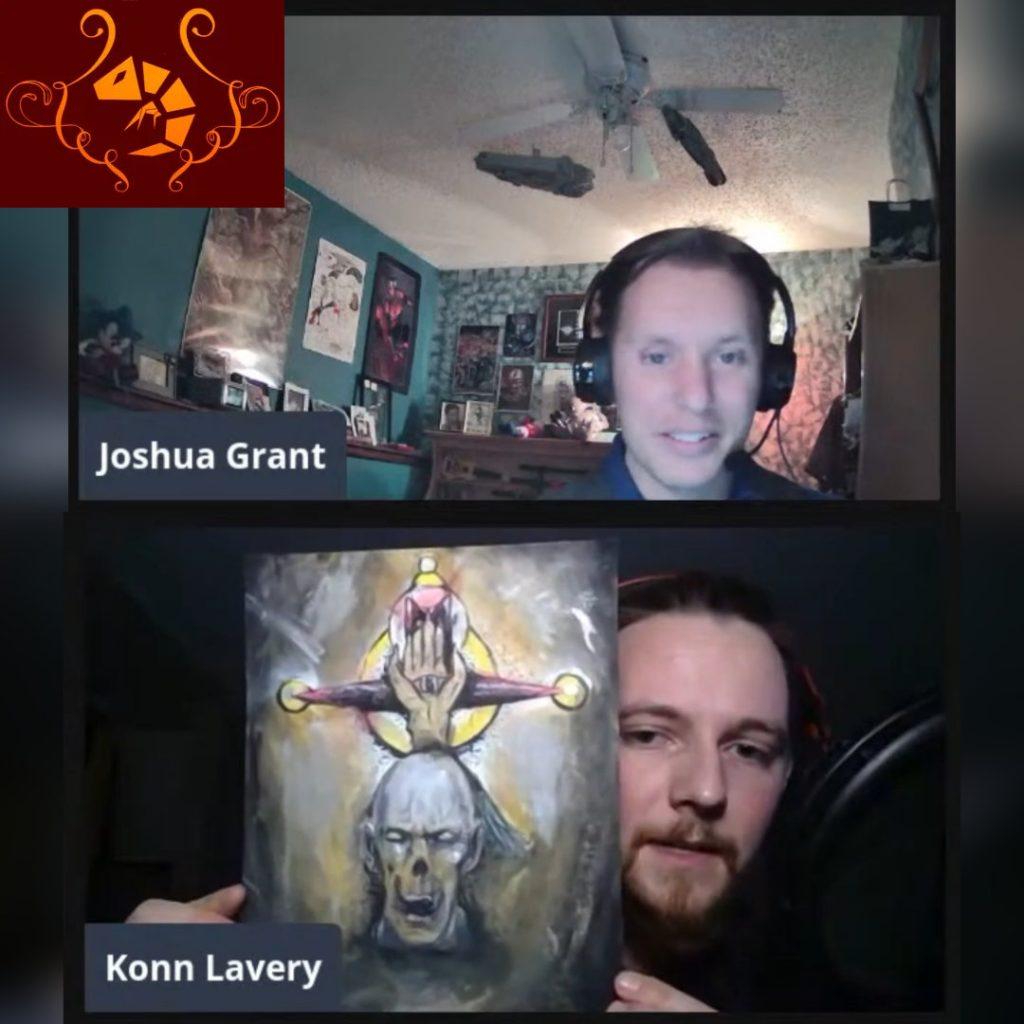 Konn Lavery--COSMIC HORROR and DARK FANTASY--Diabolic Shrimp #12