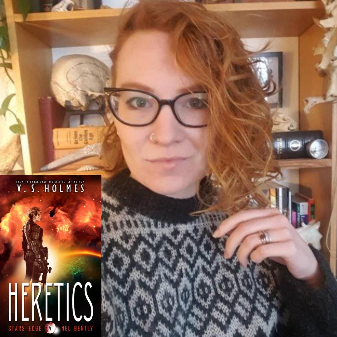 Award-Winning Fantasy Sci-Fi author V.S. Holmes's new novel: Heretics