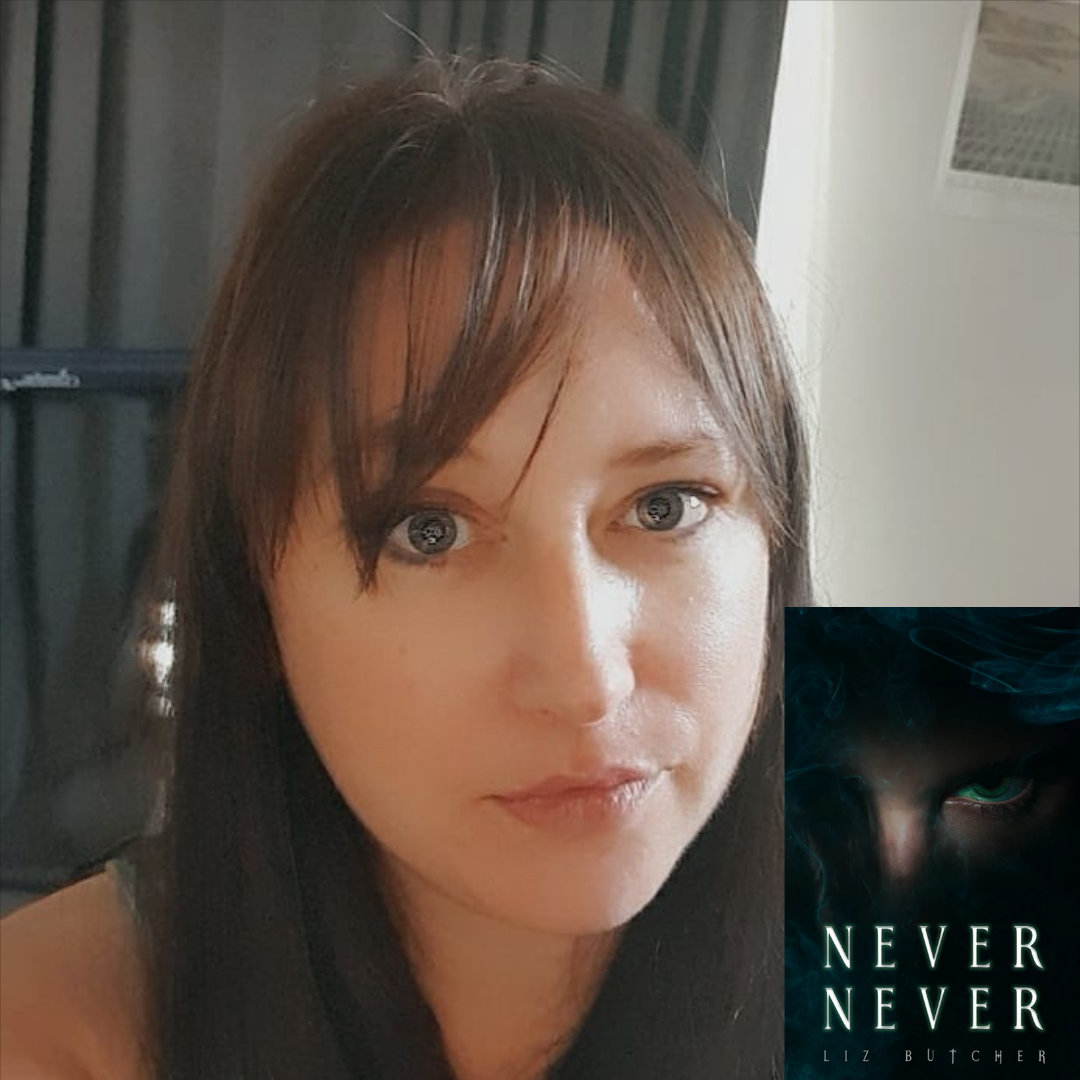 Horror Author Liz Butcher's Never, Never, and LeRoux Manor Frightful Novels
