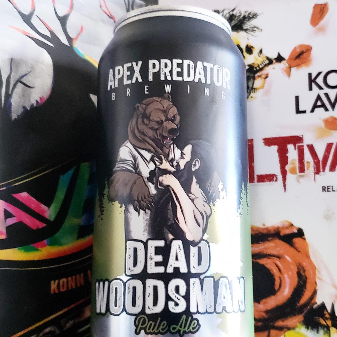 Breaks Are Healthy Beer Note: Apex Predator Brewing – Dead Woodsman Pale Ale